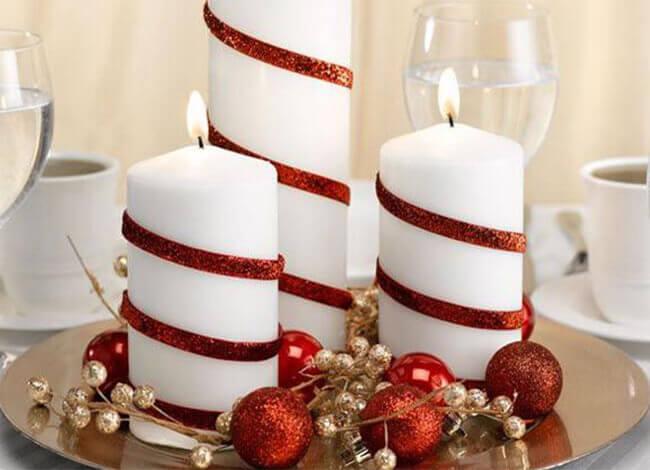 Những ý tưởng trang trí nến đẹp cho Giáng Sinh